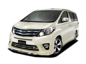 Toyota Alphard 240S C Package by Modellista 2011 года